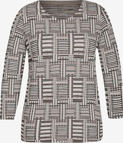 Rabe Shirt in braun / schwarz / weiß, Produktansicht