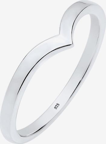 ELLI Ring 'Geo' i sølv
