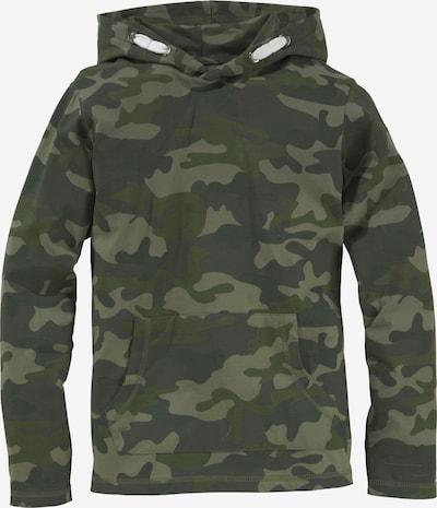 Kidsworld Shirt in hellgrün / dunkelgrün, Produktansicht