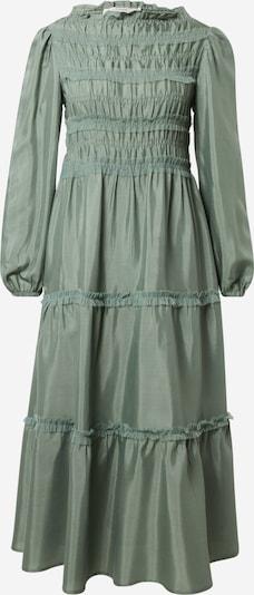 Cream Kleid in smaragd, Produktansicht