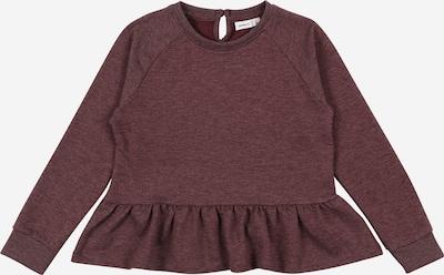 NAME IT Sweatshirt 'TIKKA' in bordeaux, Produktansicht
