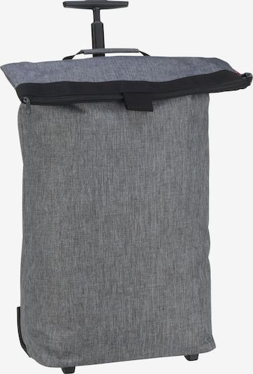 REISENTHEL Einkaufstasche ' trolley M twist ' in graumeliert, Produktansicht