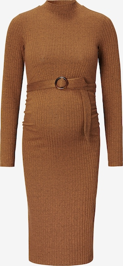 Supermom Kleid 'Rib' in hellbraun, Produktansicht