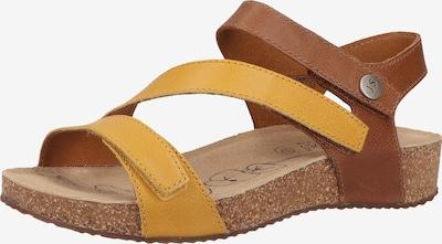JOSEF SEIBEL Sandale in karamell / gelb, Produktansicht