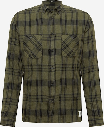 Marc O'Polo DENIM Button Up Shirt in mottled green / Black, Item view