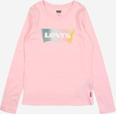 LEVI'S Shirt in blau / gelb / rosa, Produktansicht
