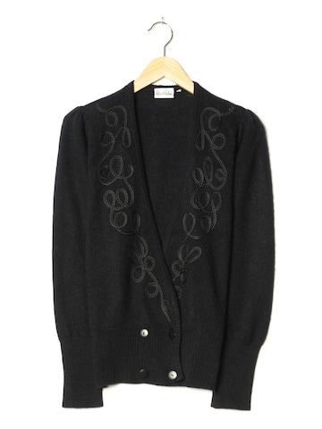Madeleine Sweater & Cardigan in XXXL-4XL in Black
