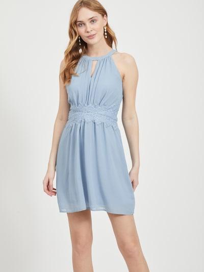 VILA Kleid 'VIMILINA' in rauchblau, Modelansicht