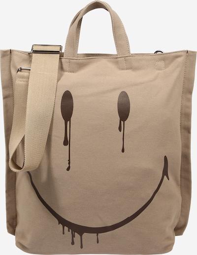STEFFEN SCHRAUT Cabas 'SMILEY' en beige foncé / noir, Vue avec produit