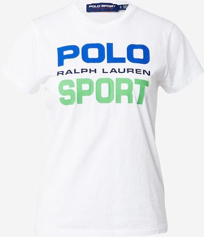 POLO RALPH LAUREN Camiseta en azul / verde claro / blanco, Vista del producto