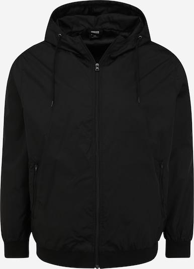 Demisezoninė striukė iš Urban Classics Big & Tall, spalva – juoda, Prekių apžvalga