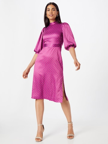 Closet London Cocktail Dress in Purple
