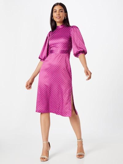 Closet London Kokteilové šaty - svetlomodrá / fuksia, Model/-ka