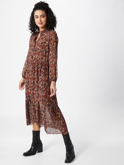 ZABAIONE Robe 'Nina' en camel / mélange de couleurs, Vue avec modèle