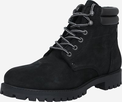 JACK & JONES Lace-up boots in black, Item view