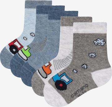 camano Socken 'Fahrzeuge' in Mischfarben