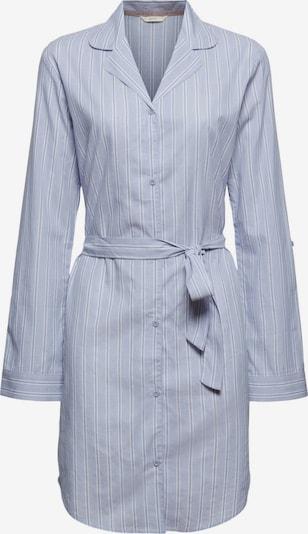 ESPRIT Nachthemd in de kleur Lichtblauw / Wit, Productweergave