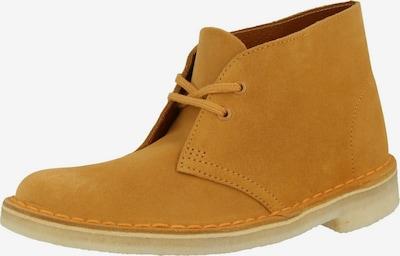 CLARKS Boots 'Desert' en safran, Vue avec produit