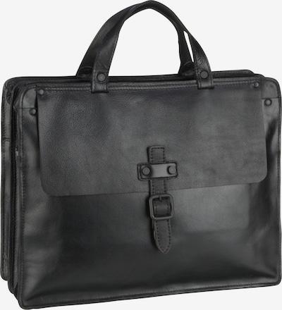 Harold's Aktentas in de kleur Zwart, Productweergave