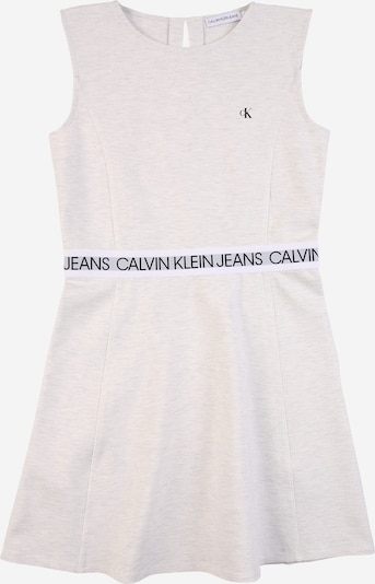 Calvin Klein Jeans Kleid in grau / schwarz / weißmeliert, Produktansicht