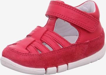 Chaussons 'FLEXY' SUPERFIT en rouge