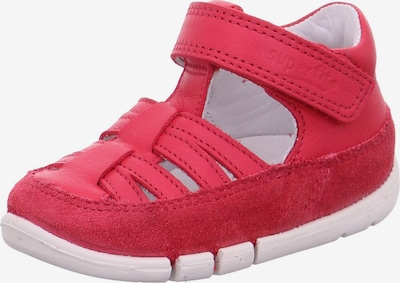 SUPERFIT Lauflernschuh 'FLEXY' in cranberry, Produktansicht