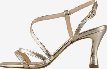 Högl Strap Sandals 'Hanna' in Gold