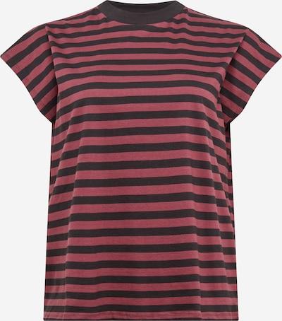 Urban Classics Curvy Camiseta en baya / negro, Vista del producto