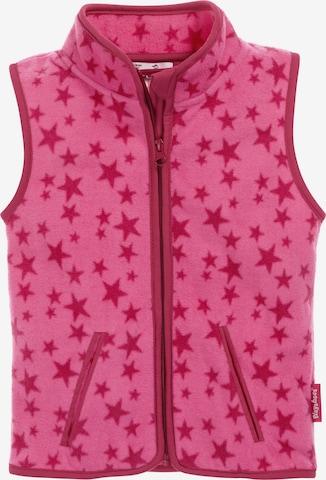 rozā PLAYSHOES Veste 'Sterne'