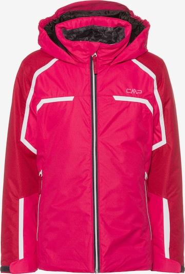 CMP Skijacke in pink / eosin / weiß, Produktansicht