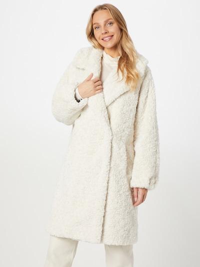 Grace Winter Coat in White, View model