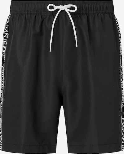 Calvin Klein Swimwear Plavecké šortky - čierna / biela, Produkt