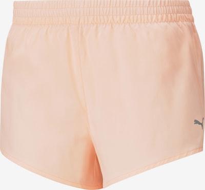 PUMA Pantalon de sport en orange pastel, Vue avec produit