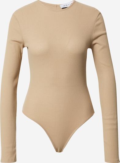 NU-IN Shirt body in de kleur Camel, Productweergave