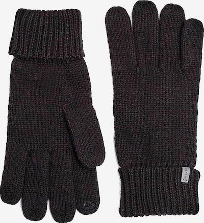 ESPRIT Handschuhe in schwarzmeliert, Produktansicht