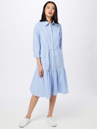 minus Kleid 'Dalina' in hellblau / weiß, Modelansicht