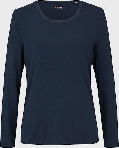 JOOP! Shirt ' Loungewear Langarmshirt in Navy ' in de kleur Blauw, Productweergave