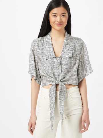 AMERICAN VINTAGE Blouse 'Tainey' in Blue
