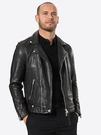 AllSaints jas 'Milo' in zwart