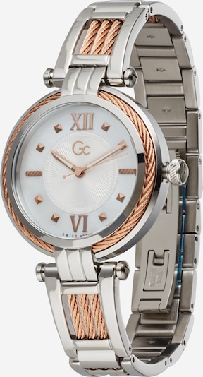 Gc Analog watch in rose gold / silver, Item view