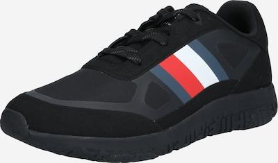 TOMMY HILFIGER Sneaker in dunkelblau / melone / schwarz / weiß, Produktansicht