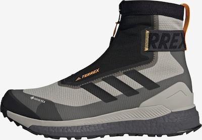 ADIDAS PERFORMANCE Outdoorschuh 'TERREX Free Hiker COLD.RDY' in grau / schwarz, Produktansicht