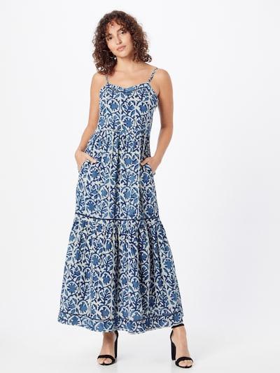 Rochie de vară 'SAFIA' Maison 123 pe albastru marin / azuriu / alb, Vizualizare model