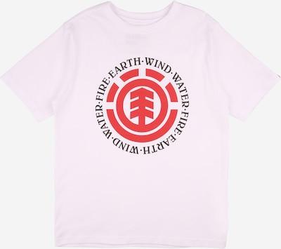ELEMENT T-Shirt fonctionnel 'SEAL' en rouge / noir / blanc cassé, Vue avec produit