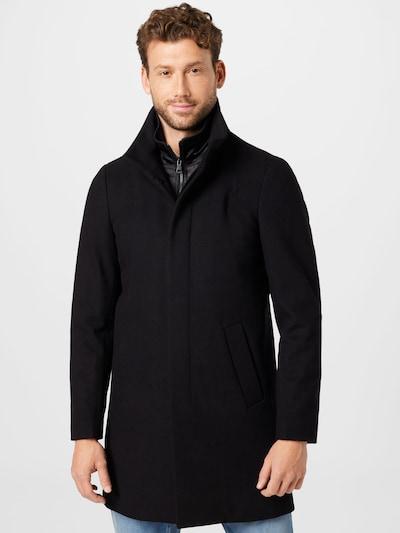 Matinique Mantel 'Harvey N' in schwarz, Modelansicht
