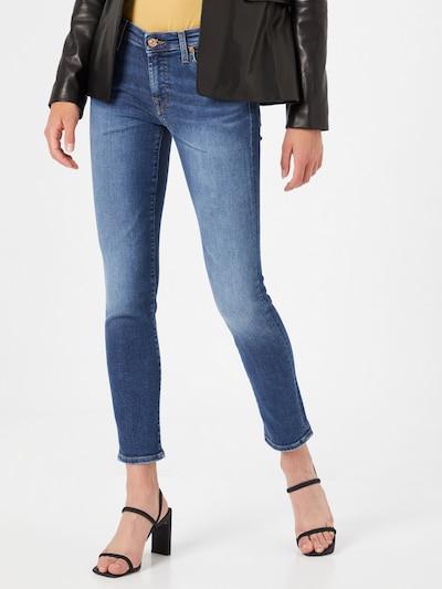 7 for all mankind Jeans 'PYPER' in blue denim, Modelansicht