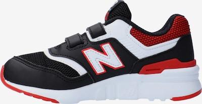 new balance Sneaker in feuerrot / schwarz / weiß, Produktansicht