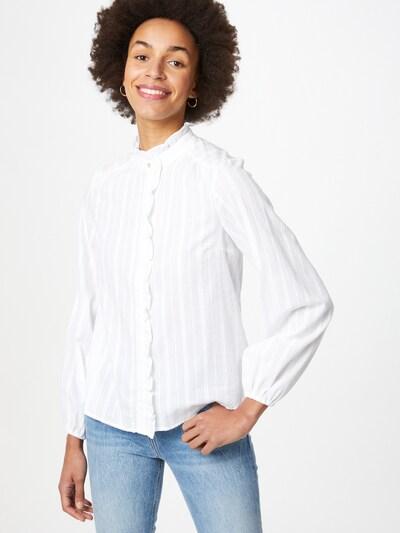 Y.A.S Bluse 'YASFRILA' in weiß, Modelansicht