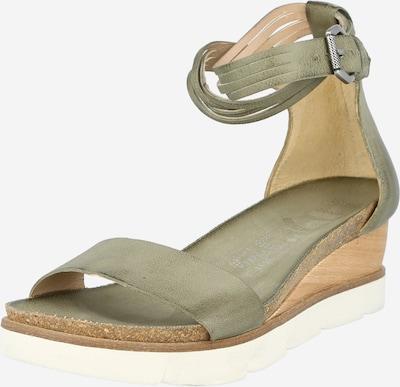 MJUS Sandale 'TAPASITA' u svijetlosmeđa / maslinasta / bijela, Pregled proizvoda