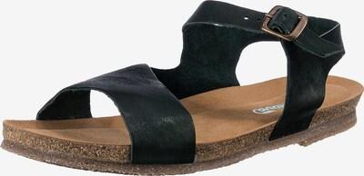 Greenova Sandalen in dunkelgrün, Produktansicht